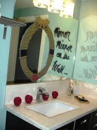 Mirror Decor Ideas Mirror On Mirror Decorating For Bathroom Best 10 White Mirror