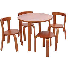 Kids Round Table And Chairs Top 13 Coolest Kids Wood Table And Chair Set Ideas For Your Young