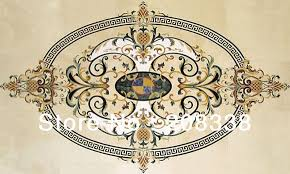 marble medallion waterjet marble inlay medallion luxury