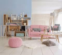 deco table rose et gris salon rose et gris