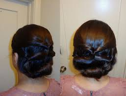 chignon tool topsy updo hairstyle