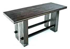 counter height pub table narrow bar height table rectangle bar table narrow bar height table