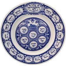 passover plate judaica seder plate pesach passover ridgway transferware