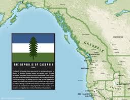 Map Writer I U0027m A Writer And A Cascadian I U0027ve Made Sure To Include Cascadia