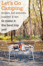 let u0027s go camping 50 camping ideas to make it easier and more fun