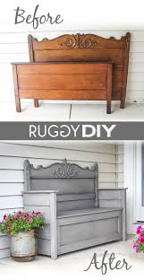 headboard bench more share today u0027s craft and diy ideas
