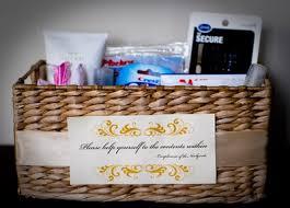 wedding program basket show me your baskets