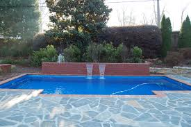 inground pool water fountains u2014 home landscapings swimming pool