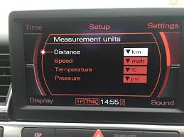 Audi Q5 55 000 Mile Service - dash showing only km and not switching to miles audiworld forums