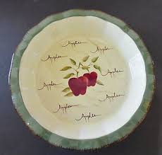 home interiors apple orchard collection home interiors apple orchard collection chip or pie plate bowl