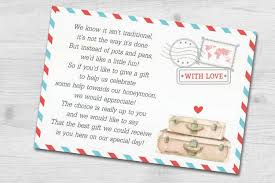 wedding gift list wording destination wedding invitation wording etiquette and exles