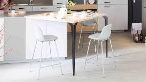 pied de table de cuisine tables chaises mobalpa