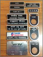 engraving services engraving services on aluminum labels stainless steel labels
