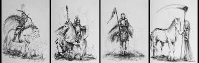 four horsemen of the apocalypse by kantellis on deviantart