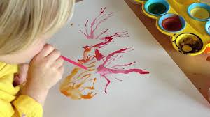 Peinture Cerisier Japonais by La Peinture à La Paille Youtube