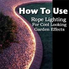 Outdoor Rope Lighting Ideas Solar Rope Lighting Oh I Like This Could Use In A Small Area In
