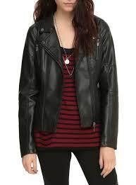 cloth moto jacket orphan black pleather girls moto jacket topic