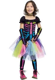 Skeleton Halloween Costume by Funky Punky Bones Costume Skeleton Toddler Fancy Dress Escapade Uk