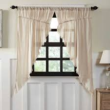 natural fringed tobacco cloth prairie curtains u2013 primitive star