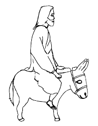 jesus enters jerusalem riding on a donkey crossmap christian kids