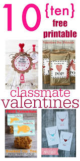 how to find a classmate 10 free printable classmate valentines the creek line house