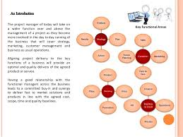 functional managers the role of the project manager