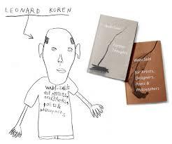 leonard koren reads from new book u201cwabi sabi further thoughts