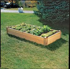 cedar raised beds 3 ft cedar raised bed garden made in vermont