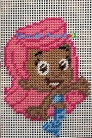 23 best bubble guppies plastic canvas patterns images on pinterest