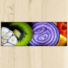 tapis de cuisine violet tapis de cuisine côté paillasson