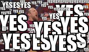 Yes Yes Yes Meme - image 360 daniel bryan macro microphone wwe yes wooo booru