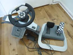 xbox 360 steering wheel sold xbox 360 steering wheel and pedal board like