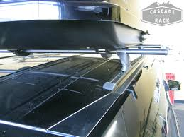 Install Honda Odyssey Roof Rack by Cascade Rack Custom Base Rack Installation And Cargo Box 2011