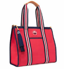 nautical tote burch new tags summer t preppy nwt navy tote bag on