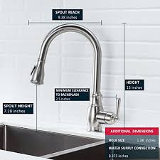 kitchen faucets with pull out sprayer touch on kitchen sink faucets lordear slc16035 best antique