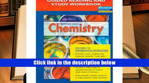 pdf prentice hall chemistry guided reading and study workbook