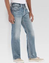 light wash jeans mens silver jeans zac light wash jeans men s relaxed fit men s wearhouse