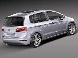 vw minivan 2015 rebusmarket high quality 3d models