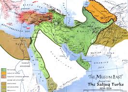 A Map Of The Middle East by Rulership And Justice Islamic Period John Woods
