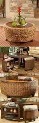 cushion ottoman coffee table living room condo design beautiful