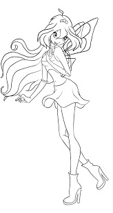 12 images of winx club bloom mermaid coloring pages winx club