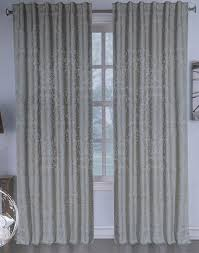 Chezmoi Collection Curtains by Amazon Com Harlow Window Panels Draperies Curtains Set Of 2 Beige