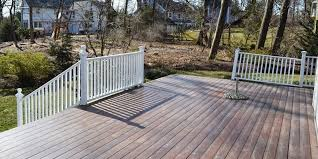 replacing wood deck railing with composite in madison nj monk u0027s
