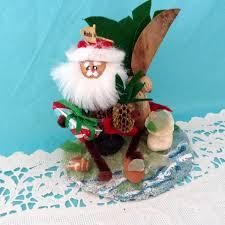 hawaiian christmas ornament hawaiian santa beach theme sea
