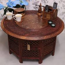 large round cocktail table 2018 latest indian coffee tables