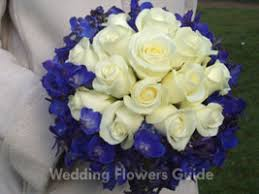 blue wedding bouquets our favourite blue wedding flowers
