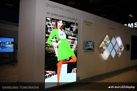 samsung unveils new dynamic signage solutions and display