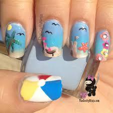 nail art novice rara u0027s goin u0027 on a summer holiday