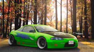 mitsubishi eclipse fast and furious artstation mitsubishi eclipse fast and the furious abimelec