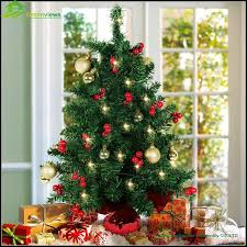 tree leaves small led pvc decoration tree